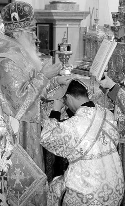 Таинство Священства. Рукоположение, хиротония