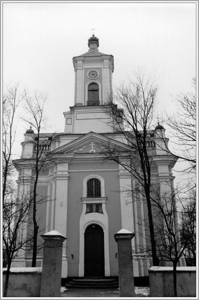 Пружанская Свята-Петрапаўлаўская царква. Сучасны выгляд.