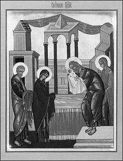Песнопения праздника Сретения Господня
