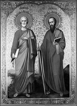 Песнопения праздника святых первоверховных апостолов Петра и Павла