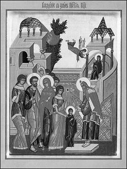 Песнопения праздника Введения во храм