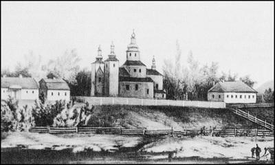Пинский Лещанский монастырь Рождества Богродицы