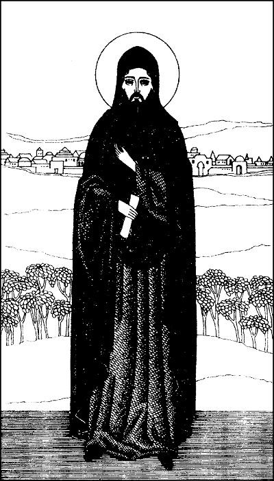 Преподобный Мартин, затворник Туровский