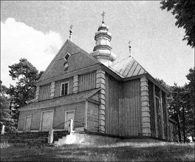 Спаса-Праабражэнскі храм у в. Хмелева