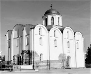 Храм у гонар Благавешчання. Адноўлены ў 1999 г.