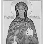 Ікона Св. прп. Еўфрасінні Полацкай