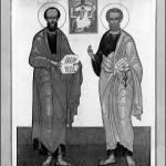 Слаўных i ўсяхвальных першавярхоўных апосталаў Пятра i Паўла, 12 лiпеня