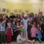 Коляды 2013 в Свято-Никольском братстве