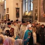 Літургія ў дзень памяці Віфлеемскіх немаўлят