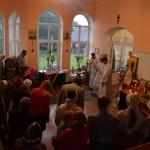 Архіерэйскае богаслужэнне ў дзень памяці  ўкраінска-беларускага святога