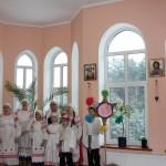 Дзіцячае каляднае святкаванне ў доме Кінанія