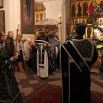 Великая суббота - чин погребения Плащаницы 1