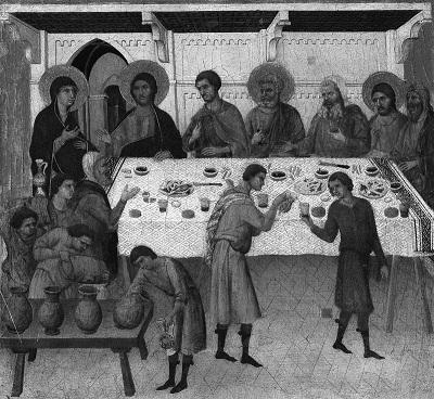 Брак в Кане  Дуччо ди Буонисенья (1278-1319)