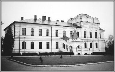 Віраў. Дом грамадскай апекі  (былая манастырская школа і царква св. Лявонція).