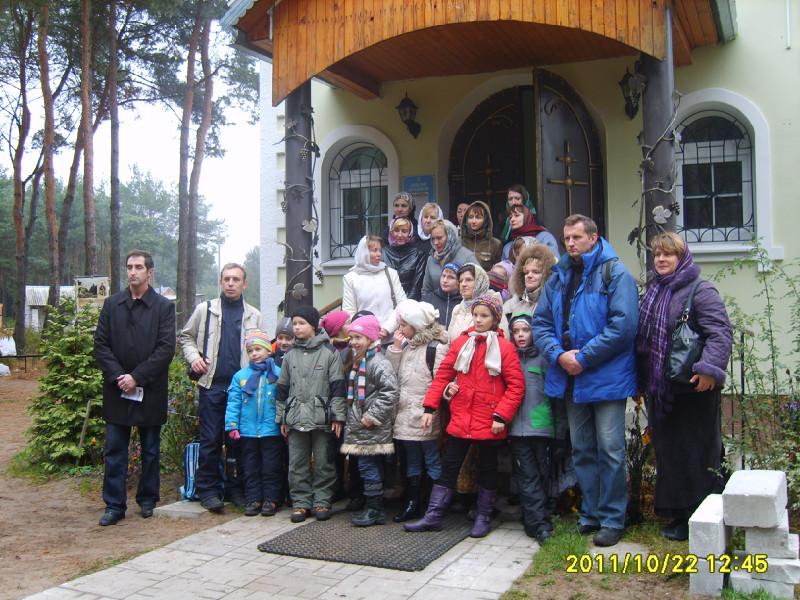 Воскресная школа собора посетила Свято-Елисеевский Лавришевский монастырь
