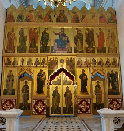 придел освящен во имя святых первоверховных апостолов Петра и Павла