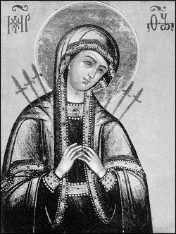 Икона Божией Матери, именуемая «Умягчение злых сердец»