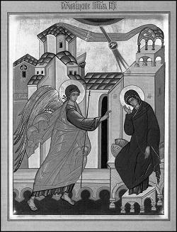 Икона «Благовещение Пресвятой Богородицы»