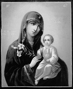 Икона Божией Матери, именуемая «Неувядаемый Цвет»