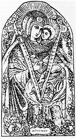 Сурдегская Икона Божией Матери