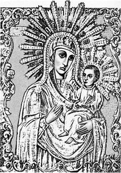 Коложская икона Божией Матери