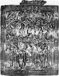 Загорье-Столовичская икона Покрова Пресвятой Богородицы